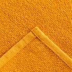 Полотенце махровое Экономь и Я 30х30 см, цв. горчичный, 100% хл, 260 гр/м2 - Фото 2