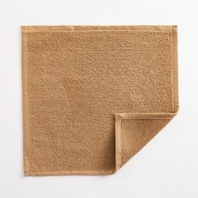 Полотенце махровое Экономь и Я 30х30 см,  цв. крем-брюле, 100% хл, 260 гр/м2 Ош
