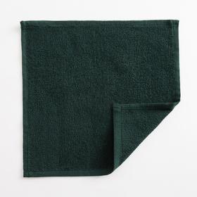 Полотенце махровое Экономь и Я 30х30 см, цв. эвкалиптовый, 100%хл, 260 гр/м2 Ош