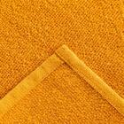 Полотенце махровое Экономь и Я 30х60 см, цв. горчичный, 100% хл, 260 гр/м2 - Фото 2