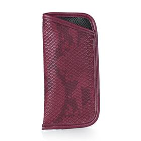 Футляр для очков, 16,5 × 1 × 8 см, цвет бордовый