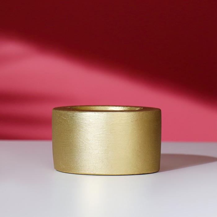 """Подсвечник """"2 в1.Прайм"""", 5х5 см, золото"""