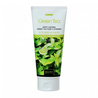 Пенка для лица Jigott очищающая, с экстрактом зелёного чая, 180 мл - Фото 1
