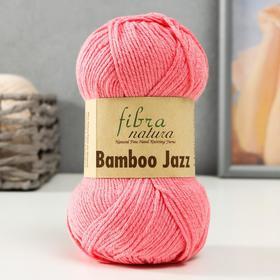 "Пряжа ""Bamboo Jazz""  50% Хлопок, 50% Бамбук 132м/50 гр (203 розовый)"