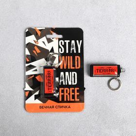 Вечная спичка 'Stay wild and free', 6 х 2,3 х 1,2 см Ош