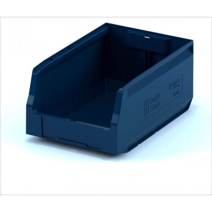 Ящик полимерный многооборотный 350х225х150 синий