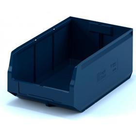 Ящик полимерный многооборотный 500х225х150 синий