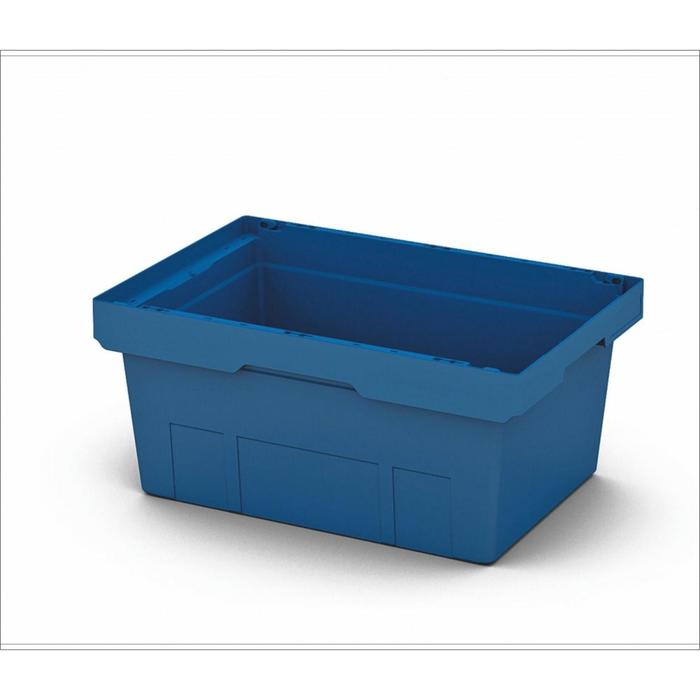 Контейнер вкладываемый 600х400х270 синий