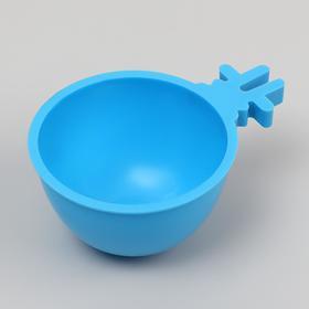 Миска для грызунов 30 мл , голубой Ош