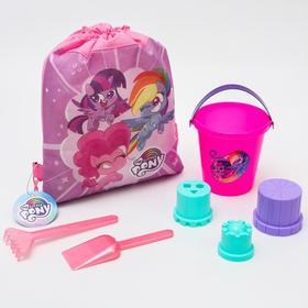 """Песочный набор My Little Pony """"Озорные пони"""", в рюкзаке"""