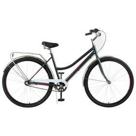 "Велосипед 28"" Forward Talica 3.0, 2021, цвет темно-серый/розовый, размер 19"""
