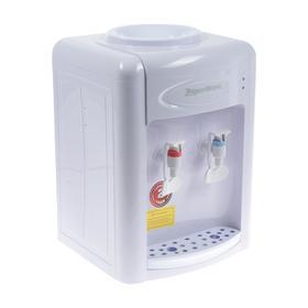 Кулер для воды AquaWork AW 0.7TDR, с нагревом/охлаждением, 700 Вт, белый Ош