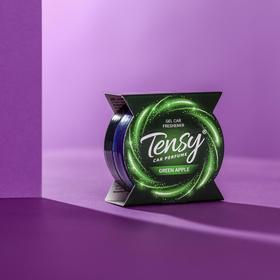 Ароматизатор Tensy баночка в подстаканник, Green apple TZ-104 Ош