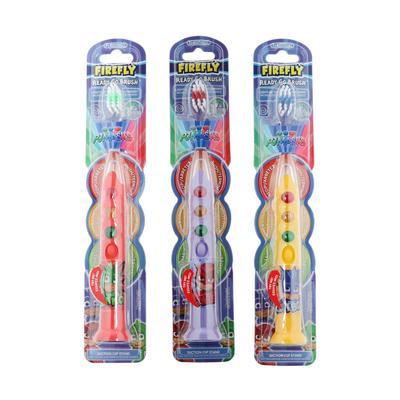 Зубная щётка PJ MASKS, таймер, подсветка-светофор, мягкая щетина, детям с 3 лет - Фото 1