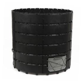 Компостер пластиковый, 1200 л, чёрный Ош