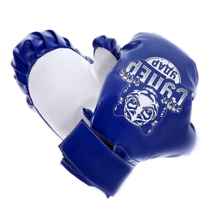 Набор для бокса детский «Супер удар», груша 60 см, перчатки, МИКС