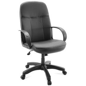 Кресло руководителя CТ41-31 черный, экокожа