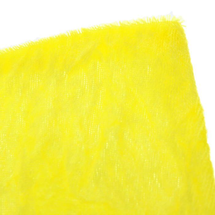 """Ворсовая ткань """"Плюш желтый №7"""", ширина 150 см"""
