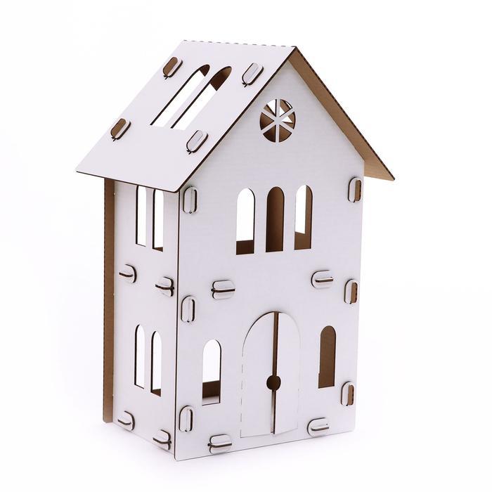 Конструктор из картона Картонный домик Брюгге