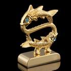 Сувенир знак зодиака «Рыбы», 5×2×5 см, с кристаллами Сваровски - Фото 3