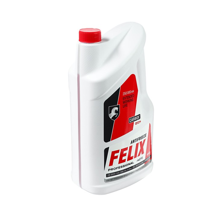 Антифриз FELIX Carbox-40 G12 ТС красный, 5 кг