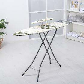 Доска гладильная Nika «Белль Классик 2», 112×34,5 см, два положения высоты 70, 80 см, европодставка, МИКС Ош