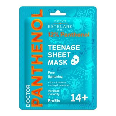 Тканевая маска Estelare Doctor Panthenol для проблемной кожи лица 14+, 20 г - Фото 1
