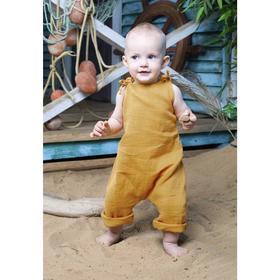 Комбинезон «Кимоно», рост 62 см, цвет оранжевый