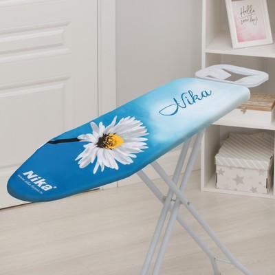 Чехол для гладильной доски Nika, 129×51 см, с поролоном, рисунок МИКС