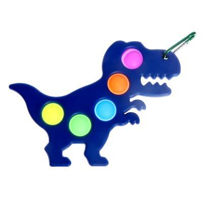 """Развивающая игра Симпл Димпл, """"Вечная пупырка"""", динозавр, цвета МИКС - Фото 1"""