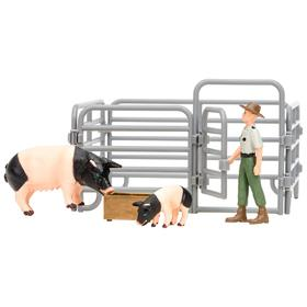 Набор фигурок: свиньи, 5 предметов