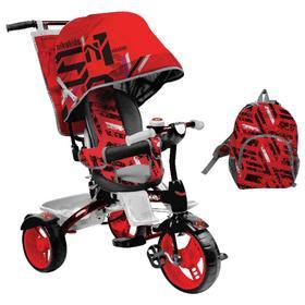 Велосипед трехколесный Nika ВД5, колеса EVA 10'/8', цвет красный Ош
