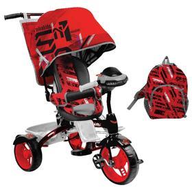 Велосипед трехколесный Nika ВД5М, колеса EVA 10'/8', цвет красный Ош