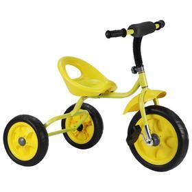 Велосипед трехколесный Лучик Малют 4, колеса EVA  10'/8', цвет желтый Ош