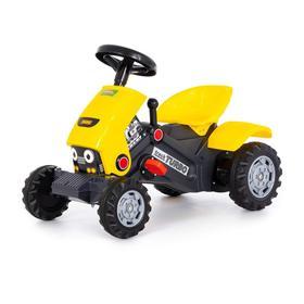 Педальная машина для детей «Turbo-2», цвет жёлтый Ош