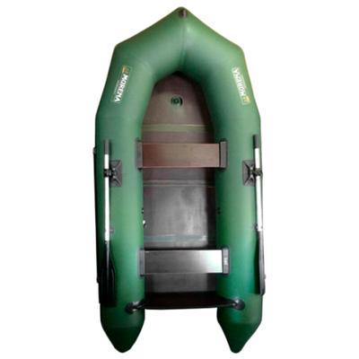 Лодка «Мурена 320М», транец, без киля и слани, цвет олива - Фото 1