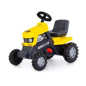 Педальная машина для детей «Turbo», цвет жёлтый Ош