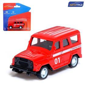 Машина металлическая «Пожарная охрана», инерционная