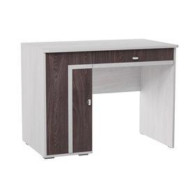 Стол письменный 2 «Омега 16», 1000 × 700 × 770 мм, цвет ясень анкор светлый / анкор тёмный