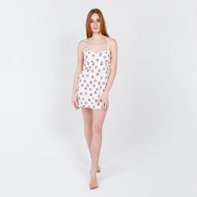 Сорочка женская, цвет молочный, размер 40