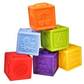 Развивающая игрушка «Кубики», 6 штук