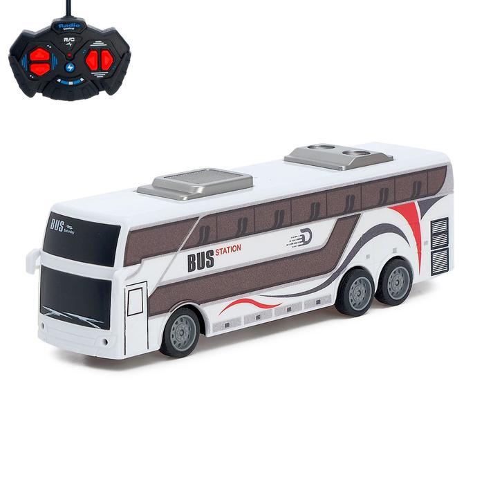 Автобус радиоуправляемый «Междугородний», работает от батареек