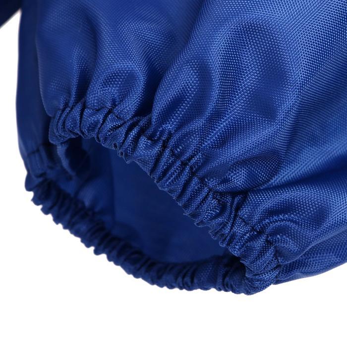 Фартук для труда + нарукавники 485х395/250х160 Calligrata «Бабочки», синий