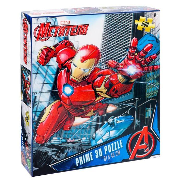 3D Пазл 500 элементов Мстители 6+