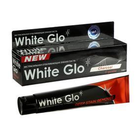 Зубная паста White Glo с углем, 100 мл