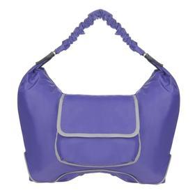Сумка молодежная, молния, цвет фиолетовый 470x360x175