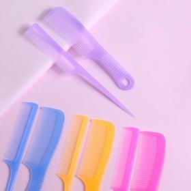Набор расчёсок, 2 предмета, цвет МИКС Ош