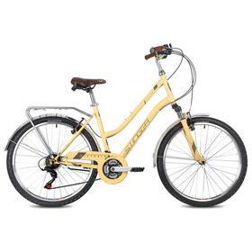 Велосипед 26' Stinger Victoria, цвет бежевый, размер 19' Ош