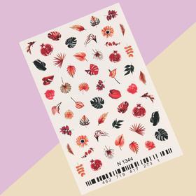 Слайдер-дизайн для ногтей «Яркие краски»