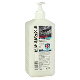 Антибактериальное жидкое мыло MANUFACTOR, ПВХ с дозатором, 1 л